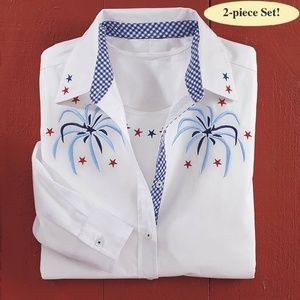 Firework Shirt Set-Country Store (Small)